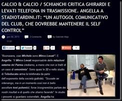 CALCIO E CALCIO 7 GENNAIO 2013