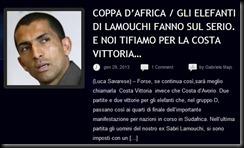 COPPA D'AFRICA SAVARESE CARMINA LAMOUCHI