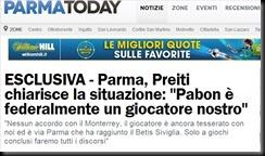 parma today pabon preiti