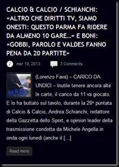 SCHIANCHI PARMA FA RIDERE CALCIO E CALCIO 18 MARZO 2013