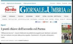 giornale dell'umbria 30 aprile