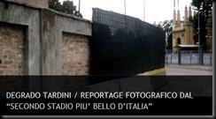 DEGRADO TARDINI REPORTAGE
