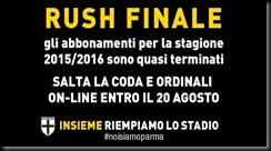 rush finale