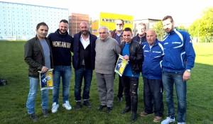 Pizzi e Lauria calcio d'inizio memorial Ghillani