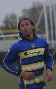 Collecchio (pr) bettarini con la maglia del parma Primo allenamento di Stefano Bettarini con la maglia del Parma - Fotografo: Renato Modesti
