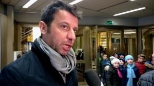 Roberto D'Aversa a Natale in Vetrina Crociata