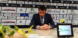 Roberto D'Aversa, conferenza stampa del 26.02.2017