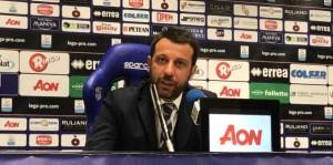 Mister Roberto D'Aversa conferenza stampa dopo Parma-Fano