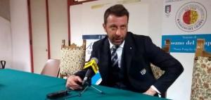 Roberto D'Aversa conferenza stampa del 15 04 2017 dopo Bassano Parma