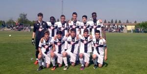 Under 15 Reggiana Parma undici crociato