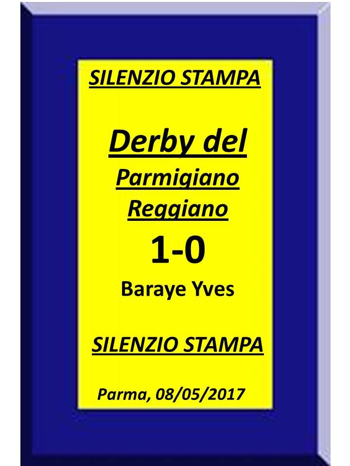 DERBY DEL PARMIGIANO