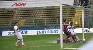 Parma Reggiana 1-0, gol di Yves Baraye Foto Alessandro Filoramo Wire Studio
