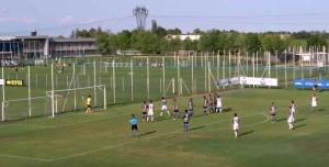 butic gol direttamente su calcio di punizione parma torino primavera