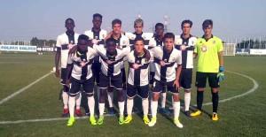 parma under 17 vs fiorenzuola juniores 30 08 2017 ingresso squadre in campo