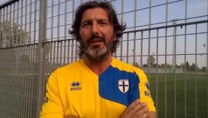 Mister Andrea Bazzini prima di poggese parma