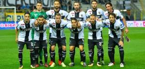 Parma Salernitana undici crociato