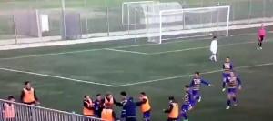 2004 parma san marino esultanza dopo gol vittoria di poerio
