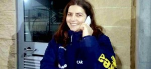 Cristina Romanini in collegamento con Calcio Ladies