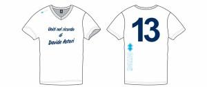 uniti nel ricordo di Davide Astori layout maglie settore giovanile