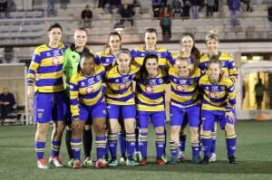 parma femminile vs new team ferrara undici gialloblu