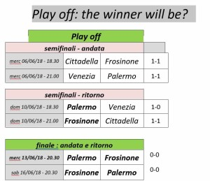 play off moro finale