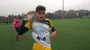 Salvatore Ribaudo dopo Parma Sassuolo u 15 16 12 2018 dedica fratello