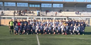 Eccellenza Femminile allenamento congiunto azzurra san bartolomeo 06 01 2018