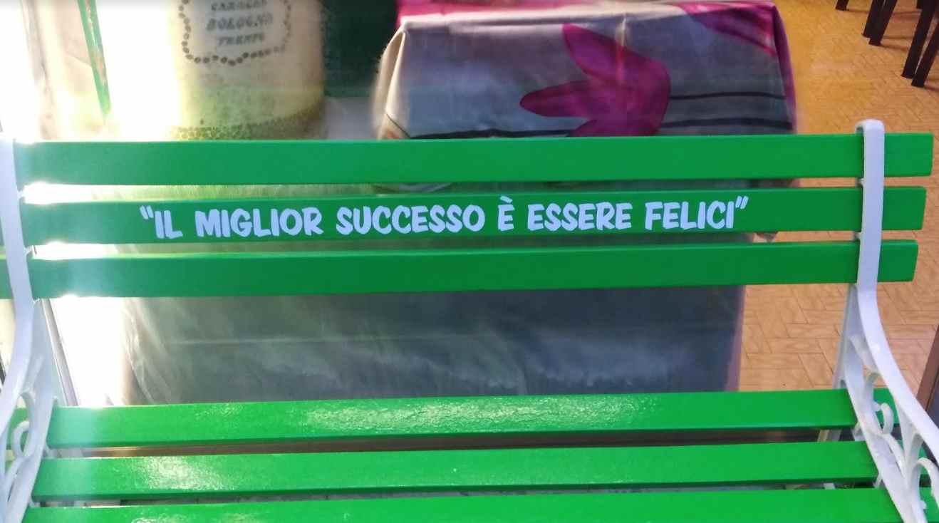 panchina verde