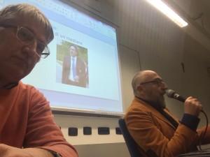 balestrazzi e majo selfie al corso giornalisti