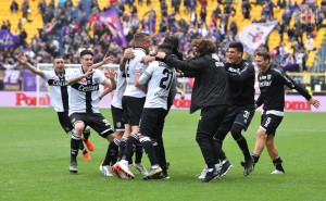 parma fiorentina gol di scozzarella esultanza 19 05 2019