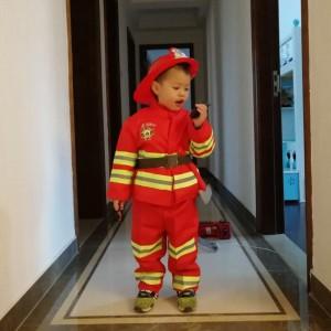 bambino pompiere