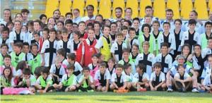 parma summer camp parma football academyy con bruno alves 05 07 2019