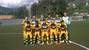 UNDER 17 1^ GIORNATA VIRTUS ENTELLA PARMA 1-0 07 09 2019 undici gialloblu