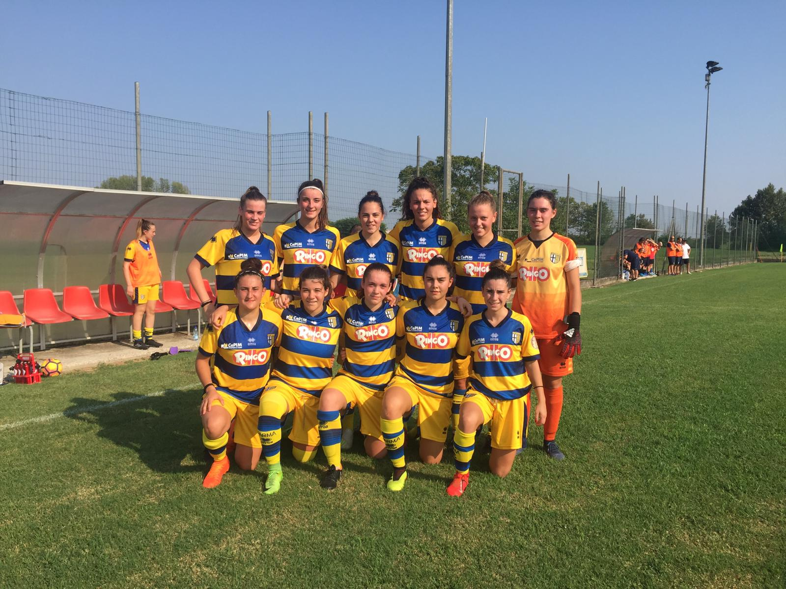 Under 19 femminile memorial sante galli