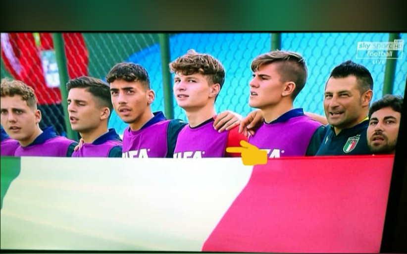 rinaldi nazionale italia under 17 mondiali inno prima di isole salomone italia 28 10 2019