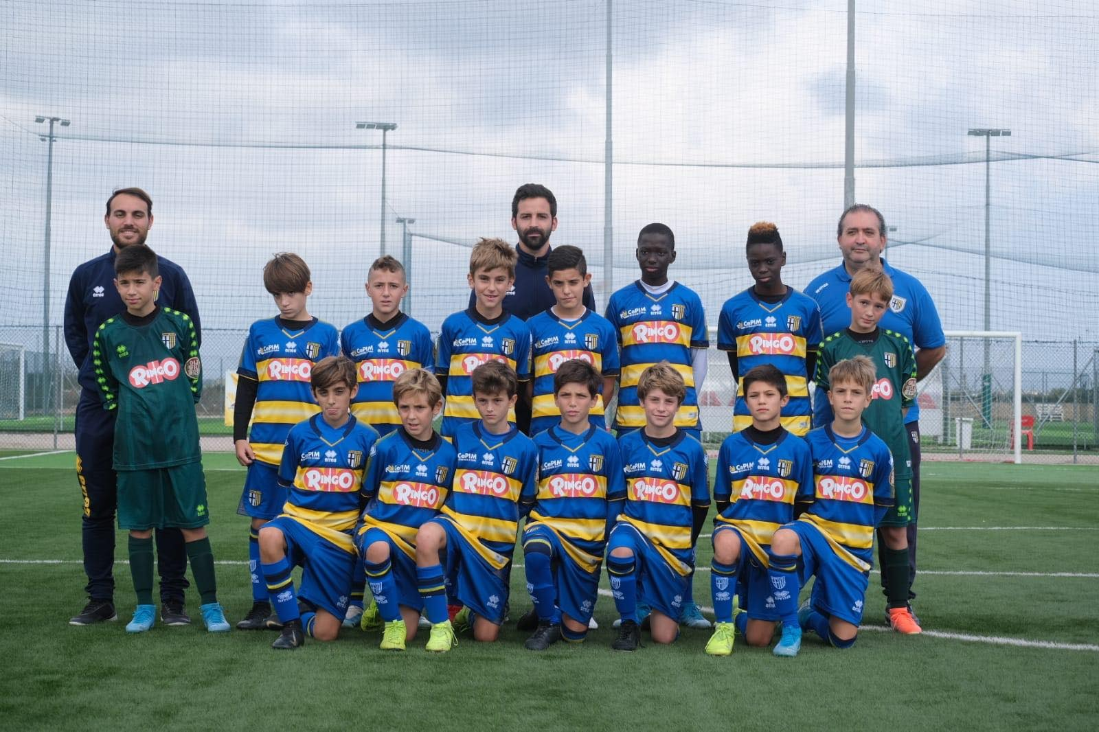 UNDER 12 FOTO TROFEO CAROLI HOTELS GALLIPOLI 31 OTTOBRE 3 NOVEMBRE 2019