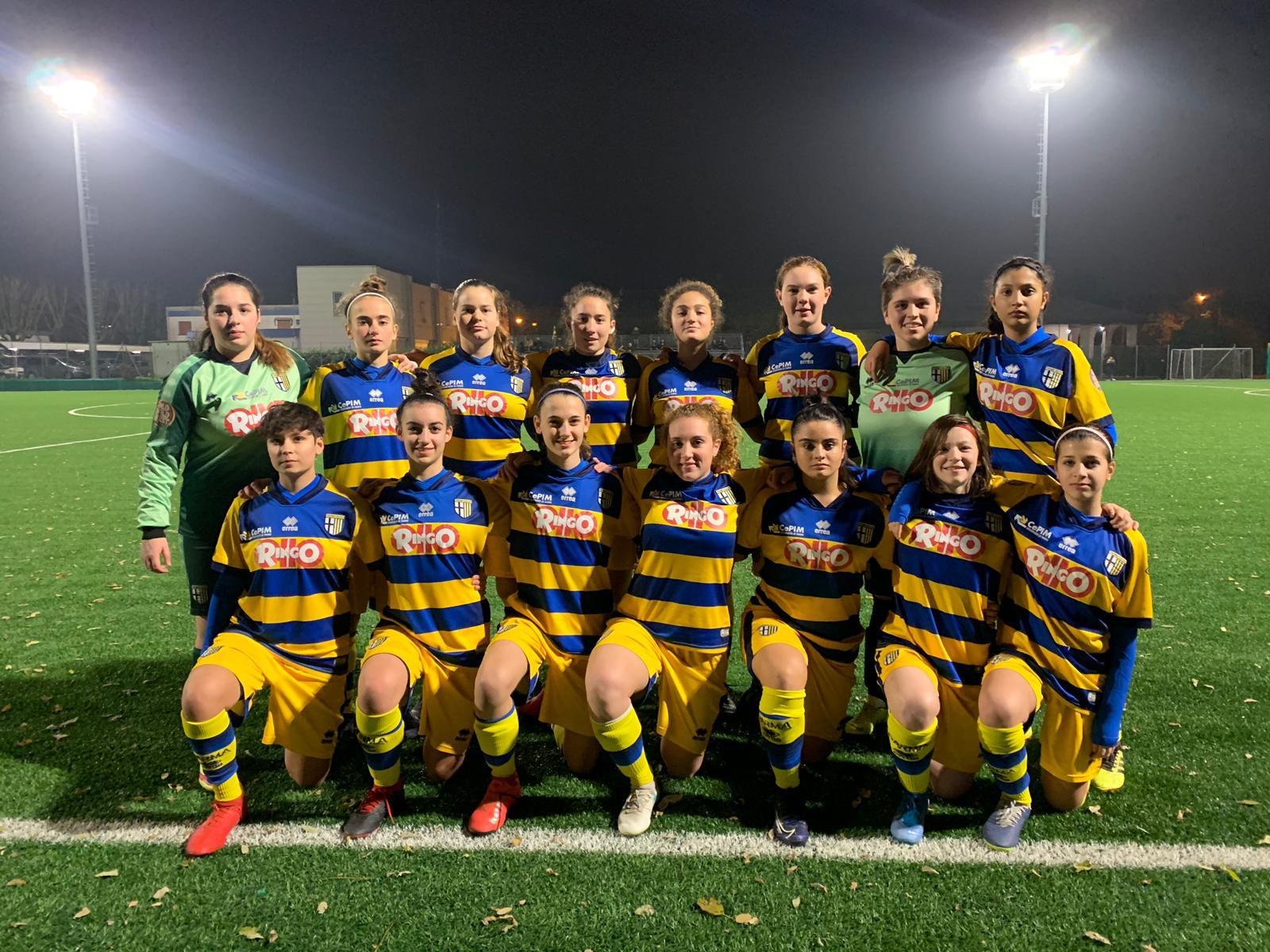allieve under 17 femminile parma atalanta 16 11 2019
