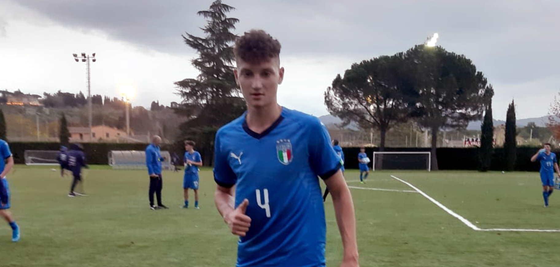 vincenzo farucci italia under 17 azzurro 23 11 2019 slide