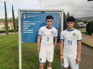 Giacomo Marconi Alessio Pezzella Coverciano 15 12 2019 torneo di natale under 15