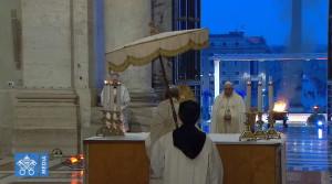 010 benedizione urbi et orbi papa francesco 27 03 2020