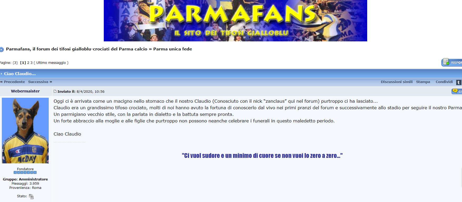 PARMAFANS ZANCLAUS