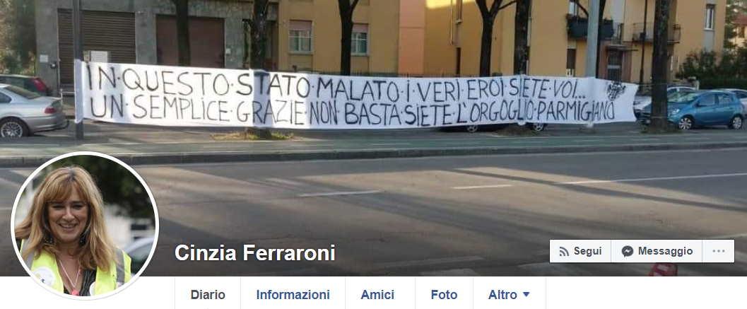 cinzia ferraroni profilo facebook