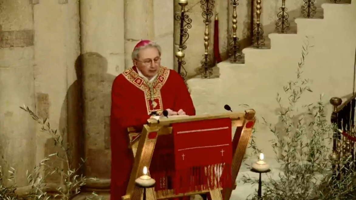 vescovo fidenza domenica delle palme