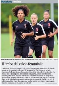 limbo calcio femminile