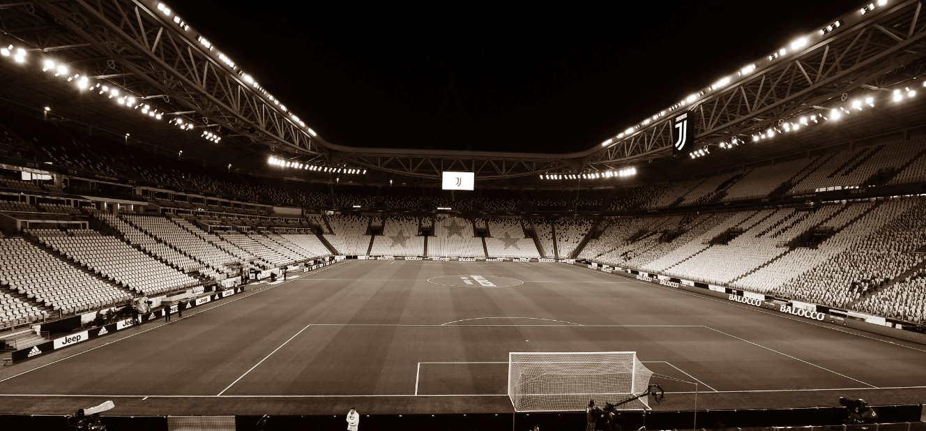 juventus stadium seppiato