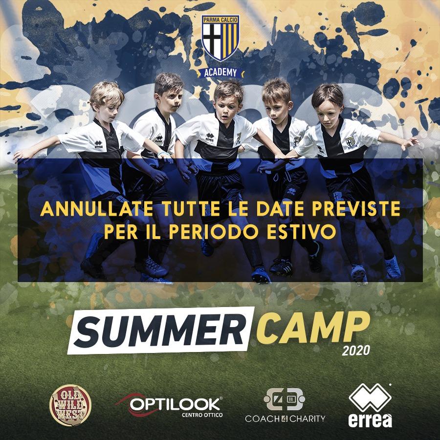 summer camp annullato