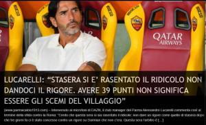 lucarelli roma stadiotardini