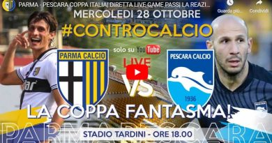 PARMA-PESCARA COPPA ITALIA, DIRETTA LIVE GAME (Video Papirus Ultra)