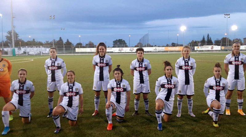 Juniores Under 19 Femminile Allenamento Congiunto Parma Ac Leon Monza E Brianza Video Stadio Ennio Tardini Parma