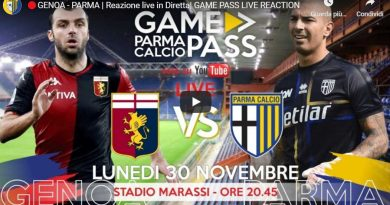 GENOA-PARMA, DIRETTA LIVE REACTION (Video Papirus Ultra)